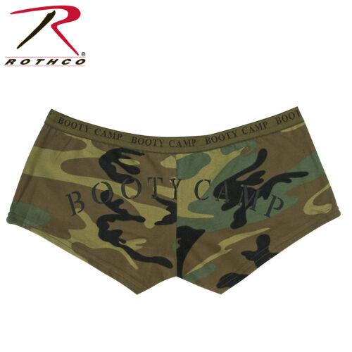 """Rothco 3476 Woodland Camo /""""Booty Camp/"""" Booty Shorts"""