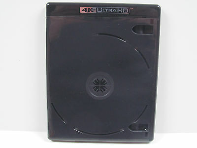 NEW! 5 VIVA ELITE 4-disc 4K Ultra HD Black Blu-ray Multi Replacement Cases