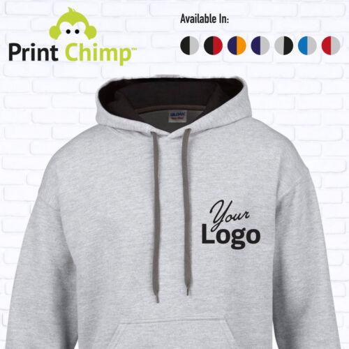Felpa con cappuccio personalizzati stampati con il tuo logo personalizzato|Stampa Workwear