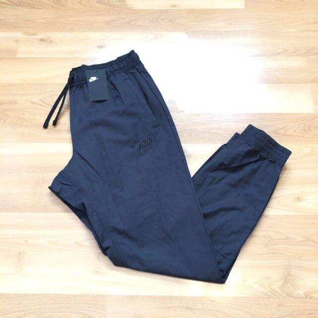 voltaje Araña de tela en embudo Inocente  Nike Men Jogger Woven Pants Black Standard Fit Taper Legs CI9831010 Size  Large for sale online | eBay