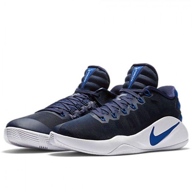 cf66bc579c7e Nike Hyperdunk 2016 Low Men Basketball Shoes Midnight Navy Blue 844363-444  12