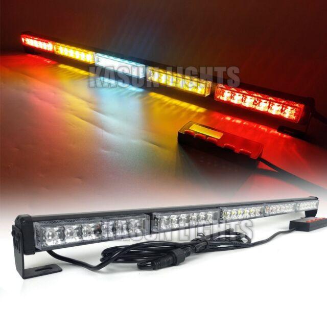 """31"""" 30 W TRAFFIC ADVISOR LED STROBE LIGHT BAR Rear Chase Offroad LIGHTS RBWAR"""