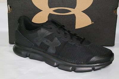 Under Armour Micro G Speed Swift Men Running Shoe Size 8.5 White Red 1266208 100