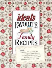 Ideals Favorite Family Recipes-ExLibrary