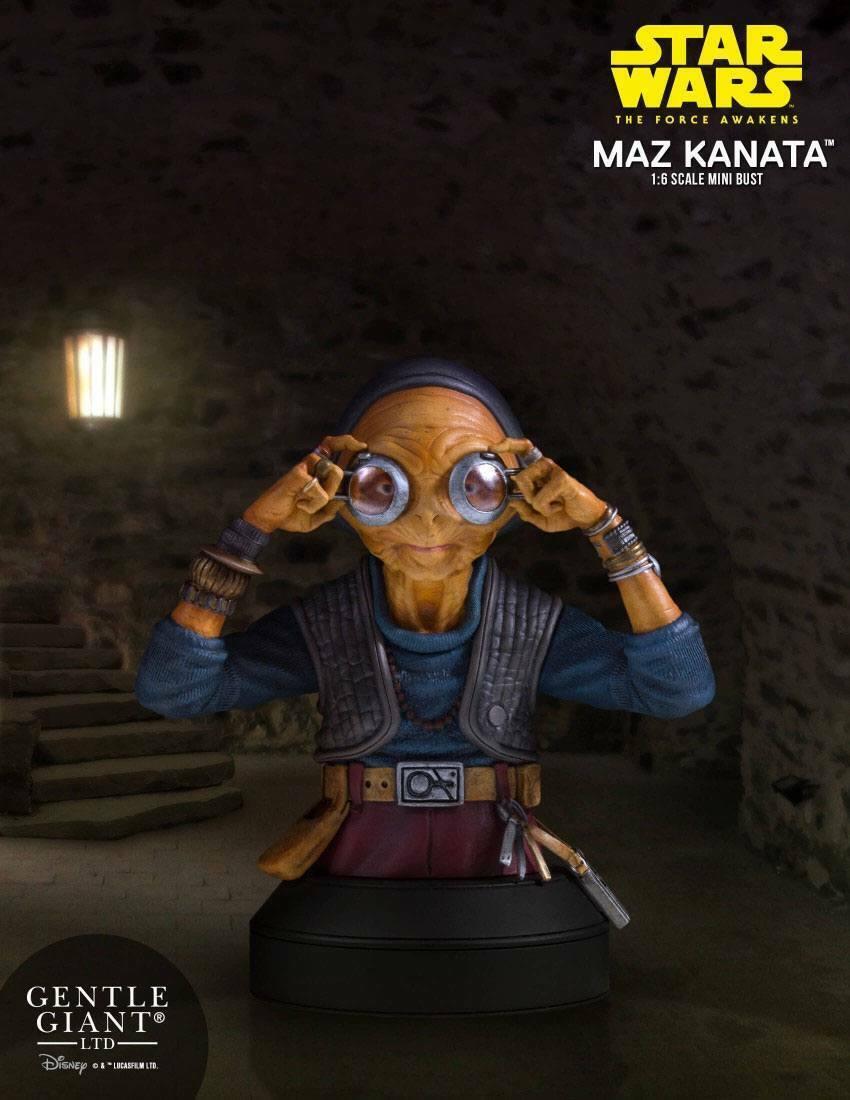 estrella guerras Episode VII autobusto 16 Maz Kanata 14 cm GENTLE GIANT