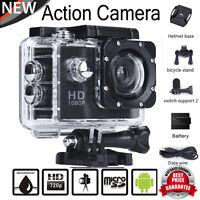 "2.0"" 1080P 12MP FHD Helmet Motorcycle Sport Action Waterproof Camera Cam SJ5000"
