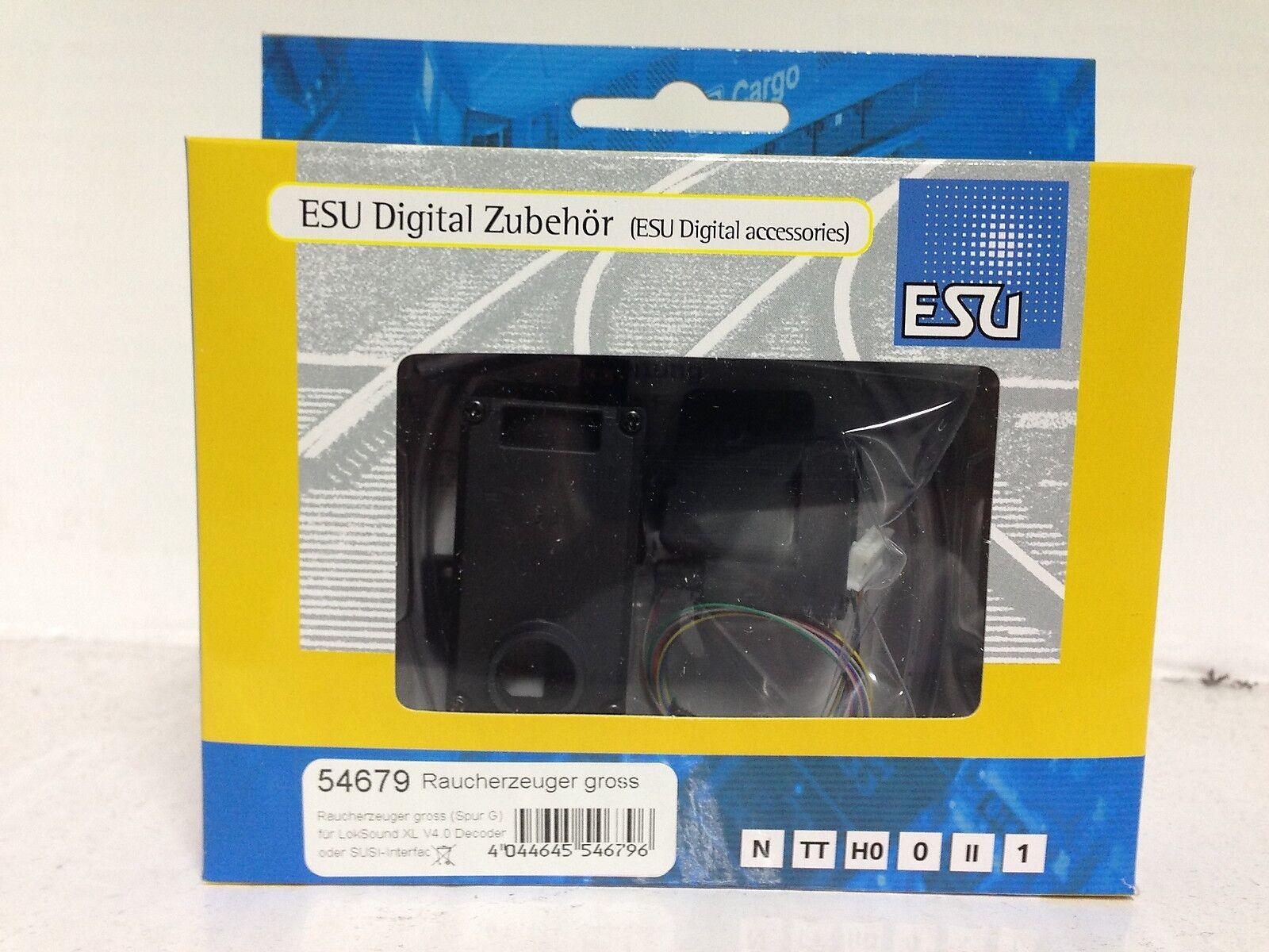 +++ ESU 54679 Raucherzeuger groß (Spur G), für LokSound XL V4.0  o. SUSI-Interf