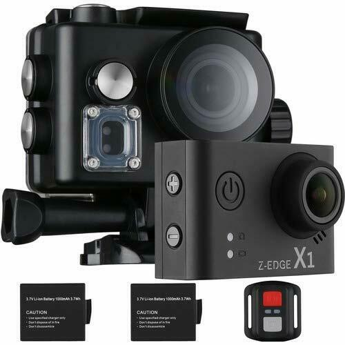 Z-EDGE 4K Action Camera, WiFi Ultra HD Waterproof Sport Camera 2 Inch LCD Featured