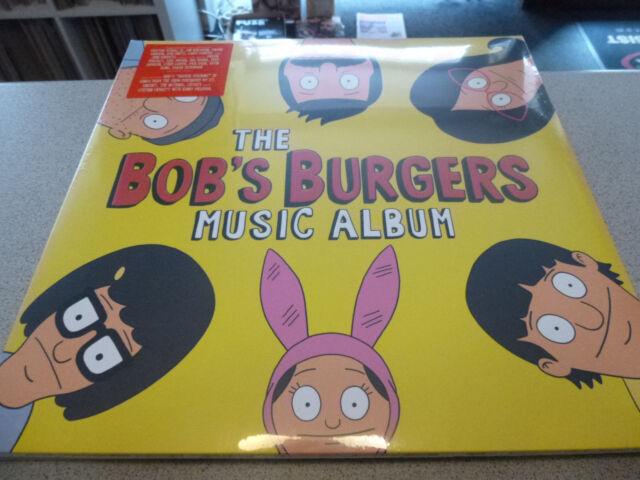OST - The BOB´S BURGERS Music Album - 3LP Vinyl / Neu&OVP / Gatefold /// SUB POP