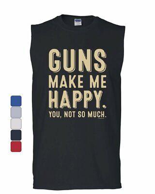Guns Lubricated with Tears of Liberals Muscle Shirt 2nd Amendment Sleeveless