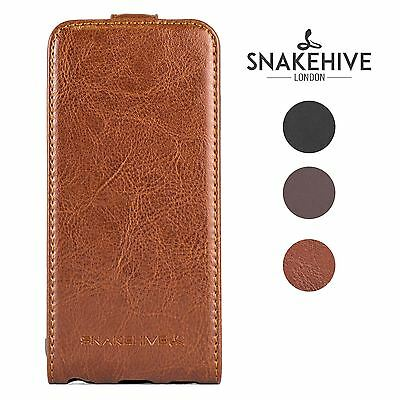 SNAKEHIVE® Premium Leather Flip Case Cover for Nokia Lumia 925