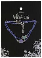 Disney The Little Mermaid Ariel Shell & Star Fish 2 Pack Bracelet Set NWT!
