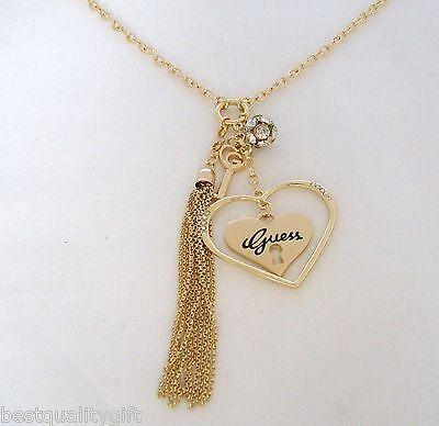 Bijoux, Montres Collana Guess Donna 100% Autentica