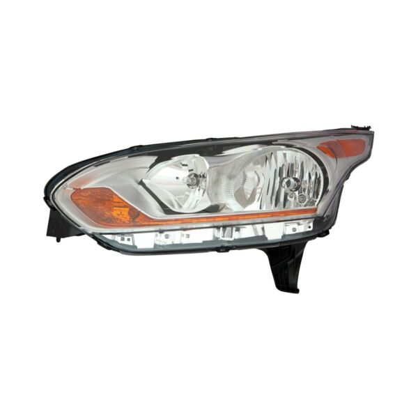 Mirror Glass For 14-18 Transit Connect Passenger Side Replacement-Lwr