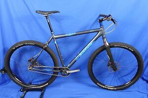 Salsa Selma Single Speed Ss Rigid 29er Mountain Bike 22 Xl Niner