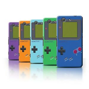 Stuff4-Huelle-Case-Backcover-fuer-Sony-Xperia-Z3-Compact-Videogamer-Gameboy