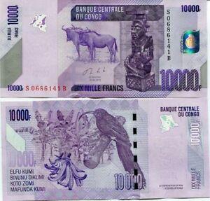 Congo-10000-10-000-francos-2013-P-103b-UNC