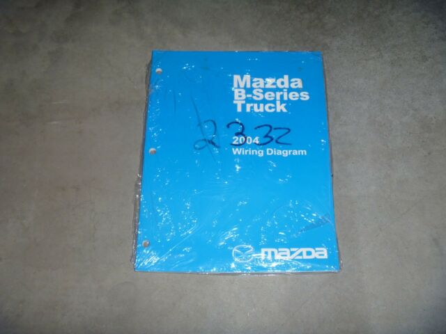 2004 Mazda B2300 B3000 B4000 Pickup Truck Electrical ...