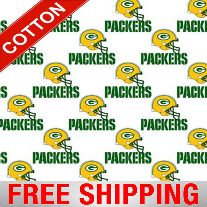Green Bay Packers Nfl 60 Cotton Fabric By The Yard Fabric Traditions G