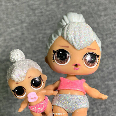 super rare LOT 20 Lol Surprise lil cosplay club dolls crystal splash queen doll