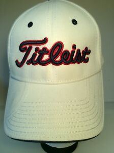 Titleist New Era Golf Hat Cap Baseball Style Adjustable Strap-back ... a49c07b703b