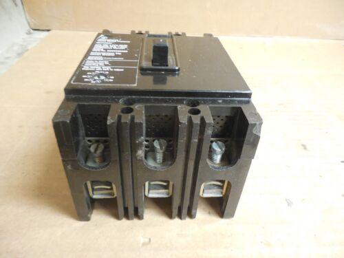LOT OF 2 WESTINGHOUSE CIRCUIT BREAKER MCP0358C 7A 7 A AMP 600Vac 3 POLE