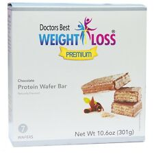Doctors Best Weight Loss Premium - Chocolate Protein Wafer Bar