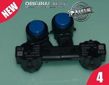 NEU Original BMW 4x PDC sensor 66209472277-01 Ultraschallsensor Mediterranblau
