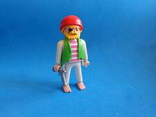 Playmobil Pirata descalzo un ojo pistola barefoot Pirate barefoot one eye