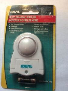 Ideal-GLASS-BREAKAGE-DETECTOR-ALARM-INTRUSION-DETECTION-sk610-NEW