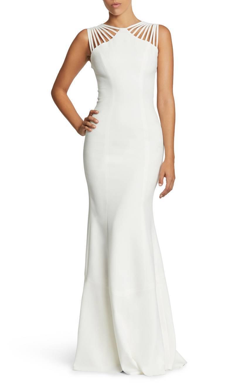 Dress the Population Harlow Crepe Gown (Size (Size (Size M) 056080
