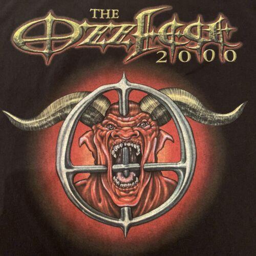 Xl Vintage OZZFEST 2000 Concert Tour T-shirt Pante