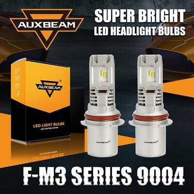 9004 HB1 LED Headlights Kit High Low Beam Upgrade Plug/&Play Turbo CoolFan 6500K
