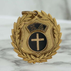 Kappa-Alpha-Mando-Llave-Dije-Graduado-Premio-Vintage-Fraternidad-Honor