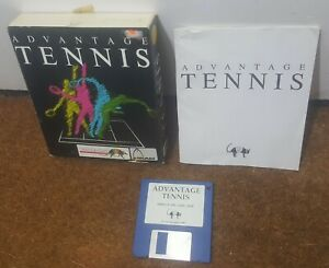Advantage Tennis un gioco Infogrames per la Commodore Amiga