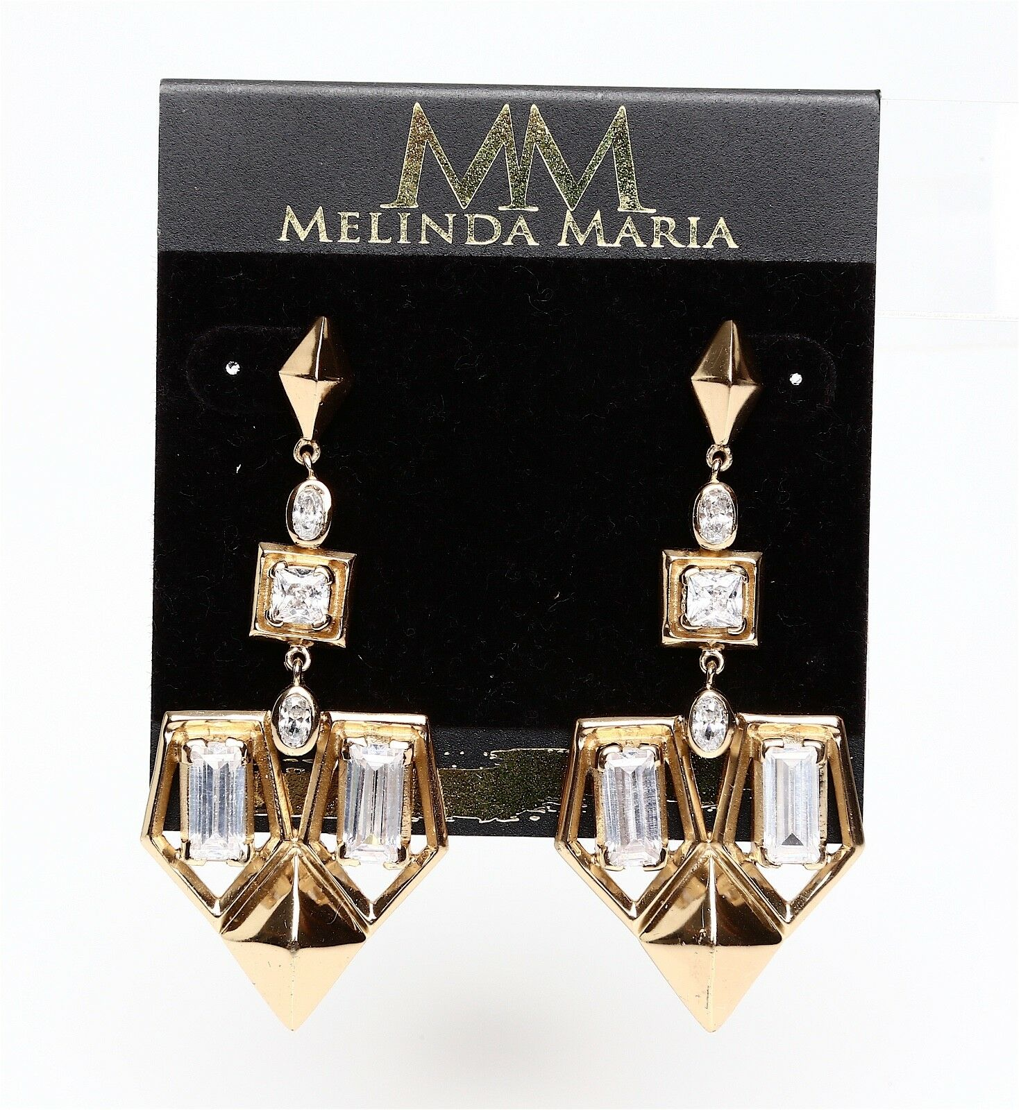 Melinda Maria Lena gold Drop Earrings 0452