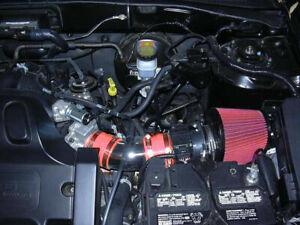 RED Filter For 05-08 Mariner 3.0L V6 Mass Air Flow Sensor Intake Adapter