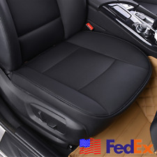 Item 2 PU Leather Deluxe Car Cover Seat Protector Cushion Black Front Universal US Ship