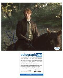 Sam-Heughan-034-Outlander-034-AUTOGRAPH-Signed-8x10-Photo-C-ACOA