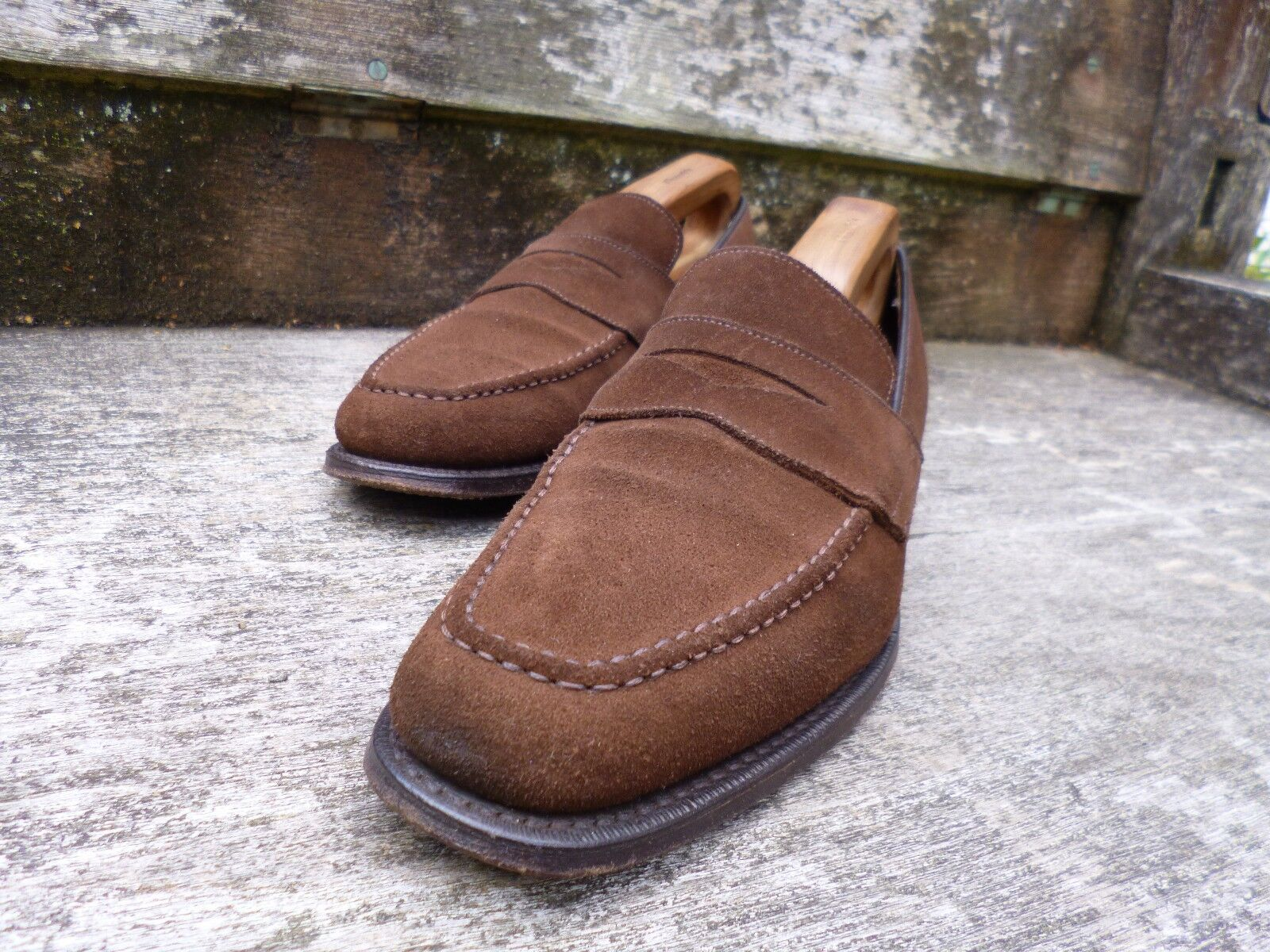 CHURCH CHURCH CHURCH LOAFERS – BROWN SUEDE – UK 6 – HERTFORD – EXCELLENT CONDITION 5d31df