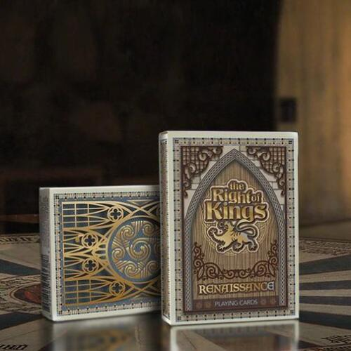 The Right of Kings Playing Cards Renaissance Edition Rare deck