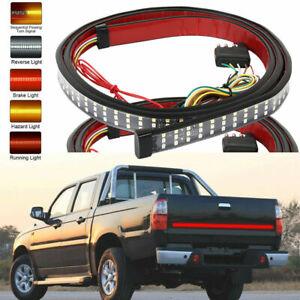 150cm-LED-Car-Red-amp-White-amp-Yellow-Strip-Rear-Trunk-Tail-Lights-Streamer-Brake-amp-Turn