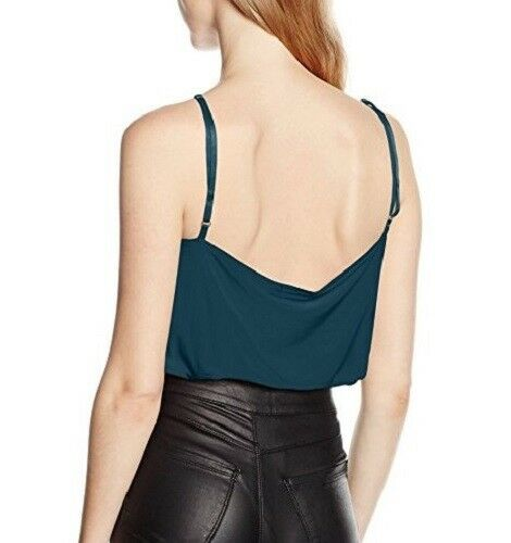 Boohoo Women/'s Sophie Wrap Front Body Size 12 RRP£14 512