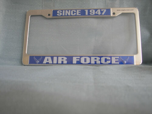 UNITED STATES AIR FORCE LICENSE PLATE FRAME SINCE 1947