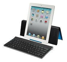 Logitech® Wireless Bluetooth Tablet Keyboard with Carrying Case