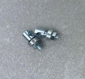 L 19,5mm X 10mm X D 5mm POUR TRINGLE DE 4,5mm VINTAGE 70/'s SERRE TRINGLE PAR 4