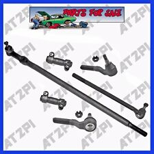 85-94 Ford F-250 4WD New Front Steering Rebuild  Kit Tie Rod End Center Linkages