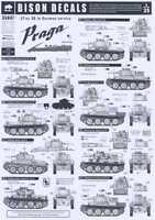 Bison Decals 1/35 Praga 38(t) Tank In German Service