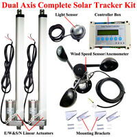 1500n Solar Tracker Solar Tracking System Dual Axis Complete Kits Sunlight Track