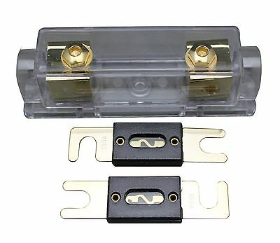 Ibp NC Shipping Anl Fuse Holder Distribution 0 4 8 Ga Gold Plated Free2X80A